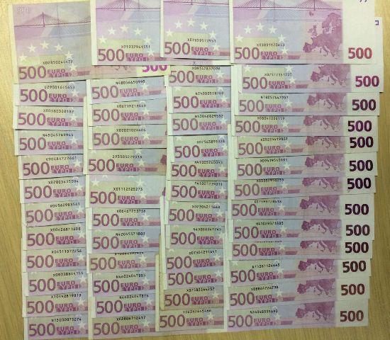 novcanice od 500 evra, uprava carine