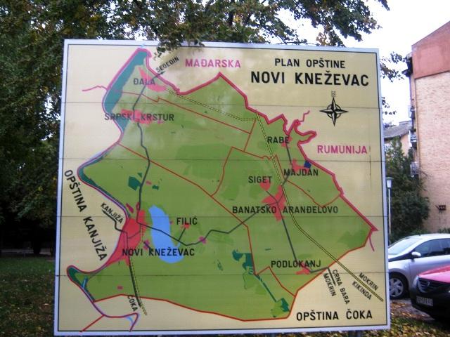 Novi Knezevac Mapa opstine na granici EU IMG_1805.jpg