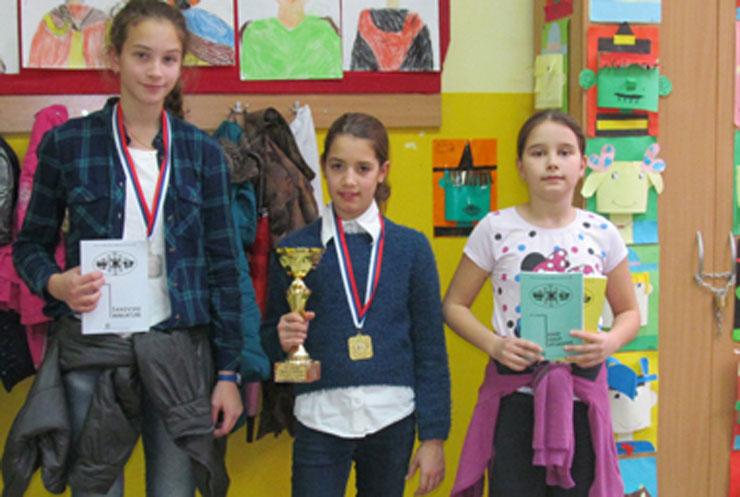 Marina Cvetkova, Anja Jovanović i Katarina Gašpar Foto: Dnevnik.rs