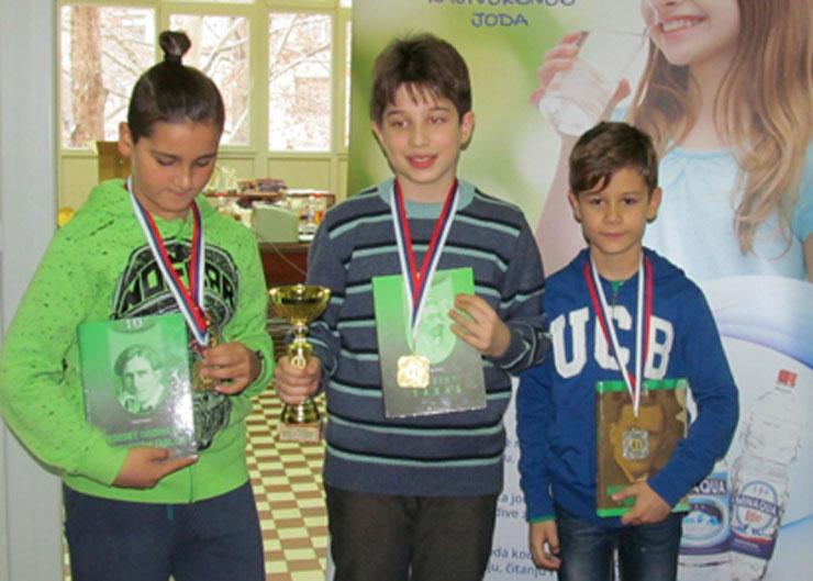 Dario Maglovski, Marko Milanović i Ognjen Ćuzović Foto: Dnevnik.rs