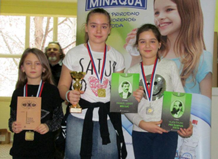 Lana Vulin, Ana Tepić i Sara Bućkoš Foto: Dnevnik.rs