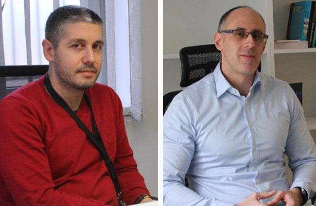 Mita Stojić i Vladimir Mandić Foto: S. Šušnjević