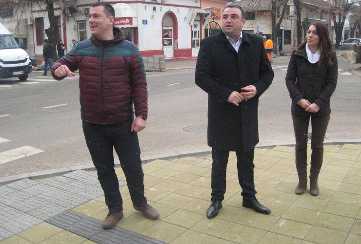 Predsednik opštine Bečej Dragan Tošić obišao radove  Foto: Dnevnik.rs