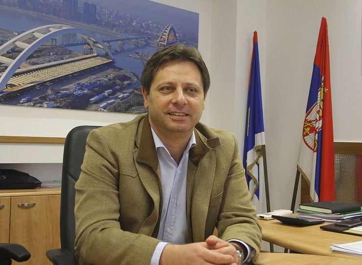 Nedeljko Kovačević, direktor Uprave za kapitalna ulaganja Vojvodine Foto: Dnevnik.rs/F. Bakić