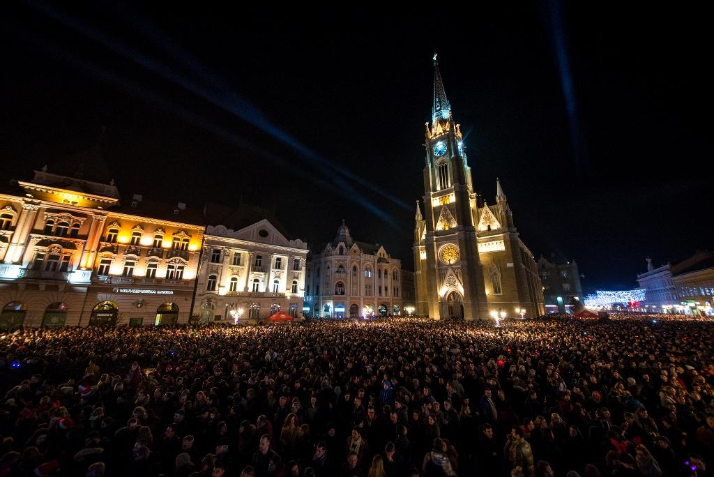 Trg slobode ng docek foto Jelena Ivanovic