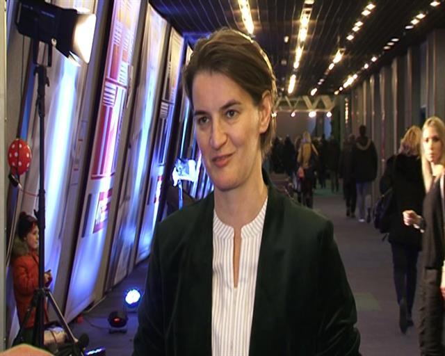 Ana Brnabić na otvaranju 46. Festa Foto: Tanjug