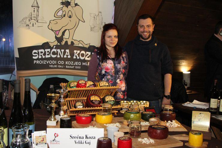 Prezentacija vina i hrane odabranih proizvođača iz regiona, ponajviše Vojvodine Foto: M. Berček