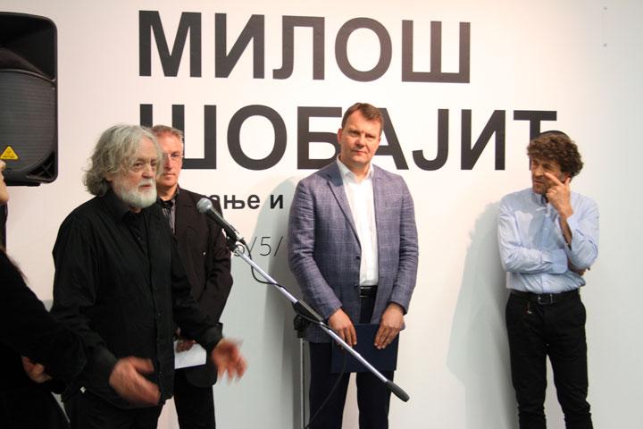 Izlozba Milosa Sobajica/Dnevnik