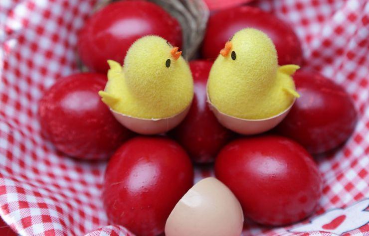 Crvena uskršnja jaja Foto: pixabay.com