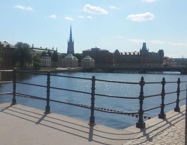 Stokholm je okružen jezerima Foto: Dnevnik.rs/M. Stakić