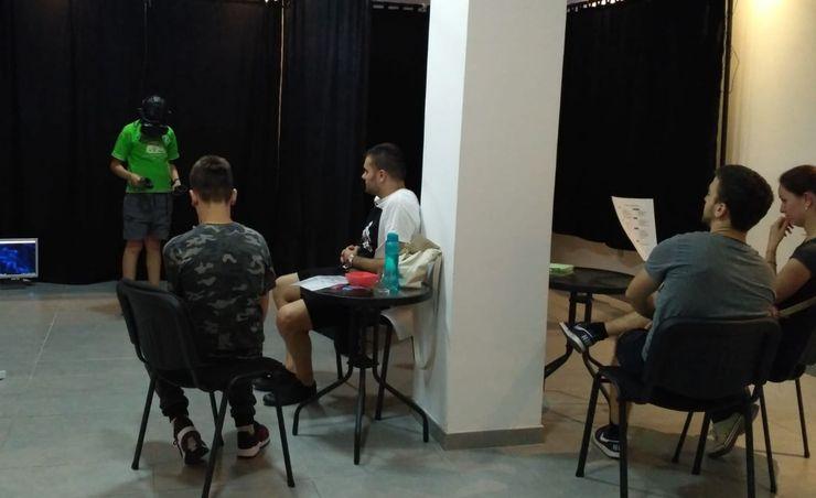 U Novom Sadu otvorena prva VR igraonica u Srbiji foto:Dnevnik.rs/ P. Mijatović
