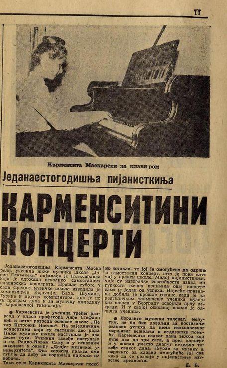 """""""Dnevnik"""" iz 1964. o čudu od deteta Foto: privatna arhiva"""