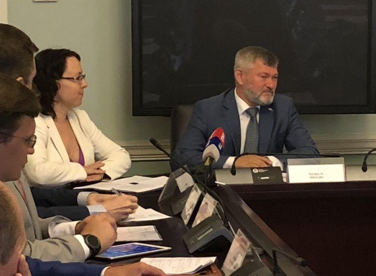 """Generalni direktor """"RŽD Internešnel"""" Sergej Aleksejevič Pavlov Foto: Dnevnik.rs"""