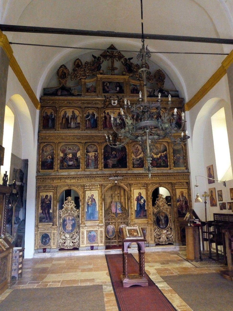 ikonostas crkve sv Nikole foto a.savanovic
