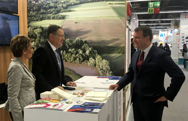 Igor Mirovic u Frankfurtu/Pokrajinska vlada