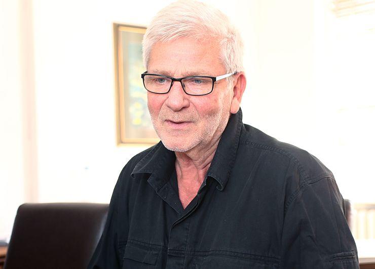Valentin Vencel, upravnik Novosadskog pozorišta    Foto: B. Lučić