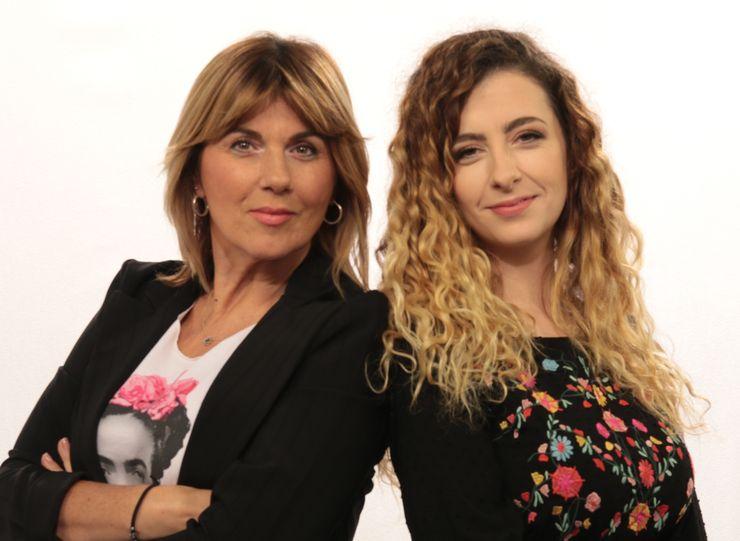 Domaćini petkom: Ksenija Jovanović i Milena Jovanić foto: Aleksandar Erbes