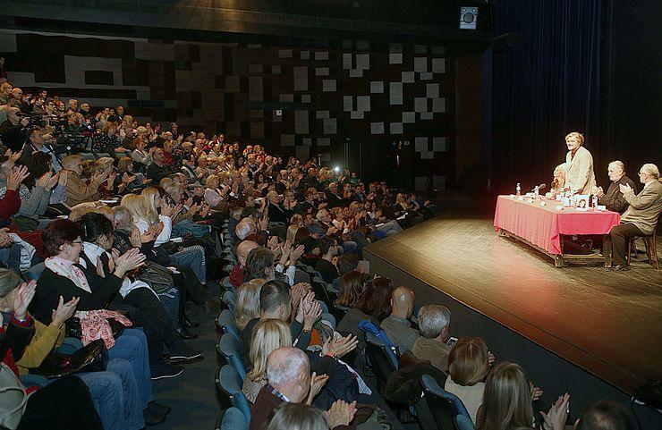 """Sa promocije knjige Emira Kusturice """"Šta mi ovo treba"""" u SNP Foto: Dnevnik.rs/B. Lučić"""