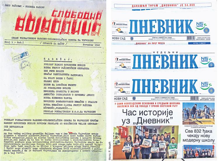 """""""Dnevnik"""" 76 godina sa čitaocima  Foto: Dnevnik.rs"""