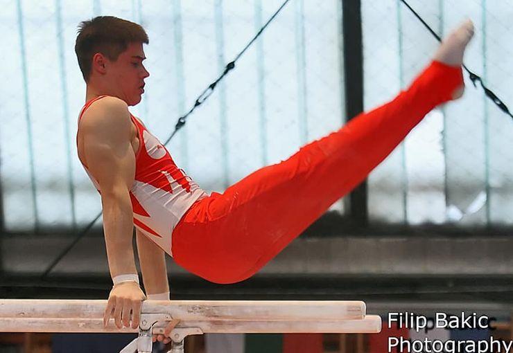 Vlada Raković apsolutni prvak Srbije u gimnastici Foto: F. Bakić