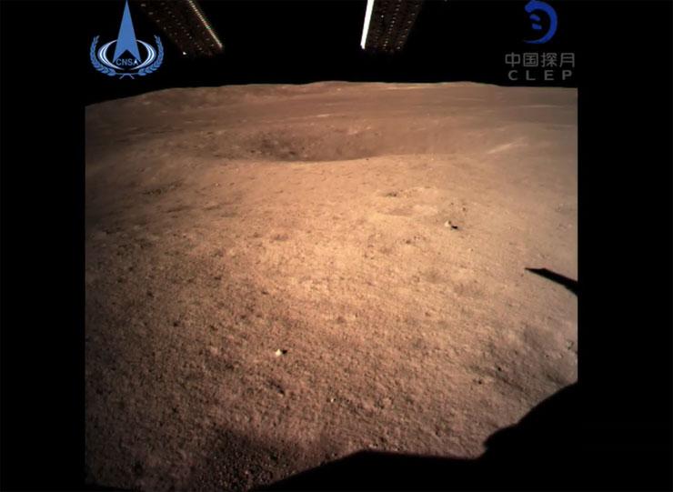 Prva fotografija sa tamne strane Meseca Foto: Youtube/printscreen
