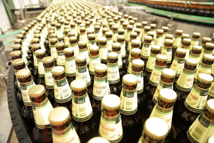 """Prve flaše """"Zrenjaninskog piva"""" biće dostupne u prodavnicama već od 1. Marta Foto: Dnevnik.rs"""