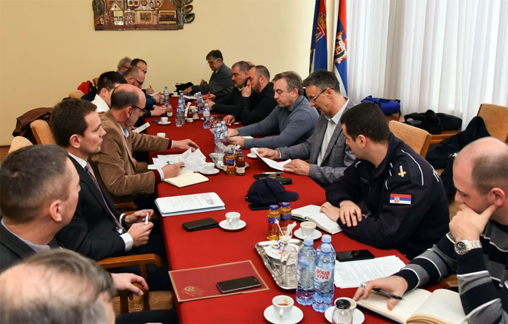 Sa sednice Organizacionog odbora/Pokrajinska vlada