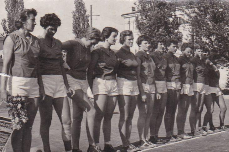 Utakmica sa Poljskom 1955. Foto: privatna arhiva