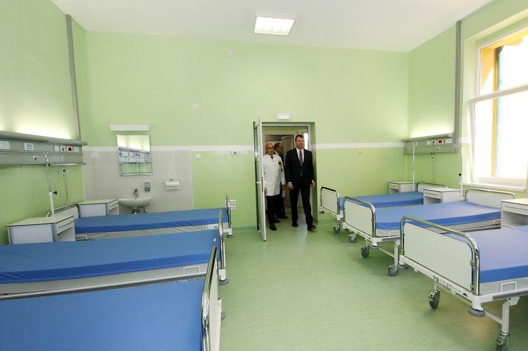 Otvаranje rekonstruisane Kliniku za ortopedsku hirurgiju i traumatologiju Kliničkog centra Vojvodine Foto: Tanjug/J. Pap