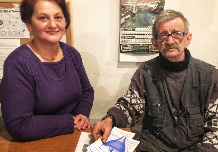 Jasminka Ugarković i Janoš Lukač foto: K. Ivković Ivandekić