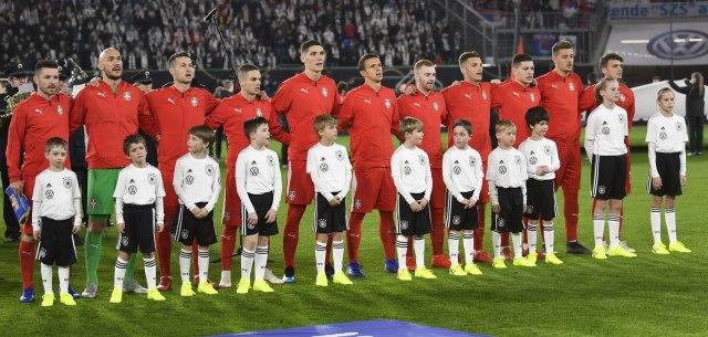 Reprezentacija Srbije Foto: Tanjug/AP Photo/Martin Meissner