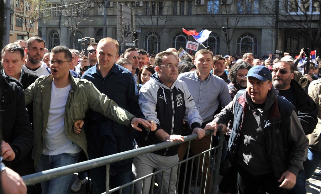 protest predsednistvo tanjug