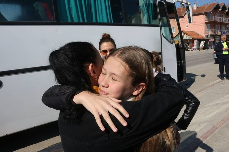 Emotivan rastanak uz želju za novi susret Foto: A. Jovanović