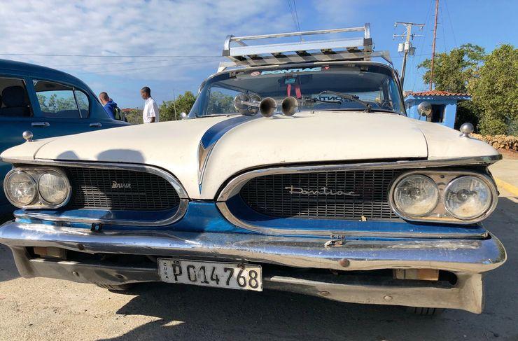 Kubanaci sami modifikuju i održavaju svoje oldtajmere foto: Nataša i Bojan Harnovski