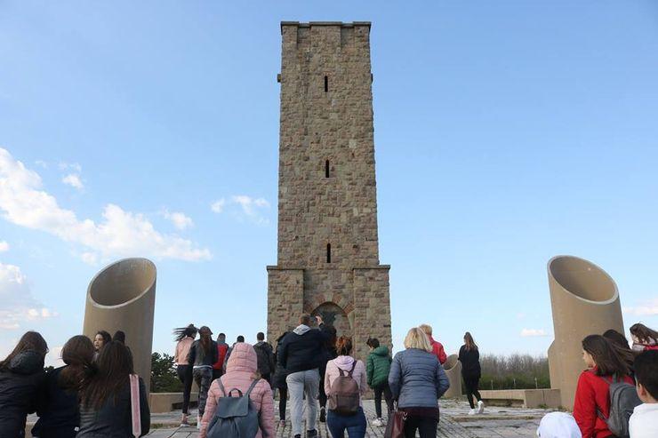 Gosti iz Novog Sada na Gazimestanu Foto: A. Jovanović