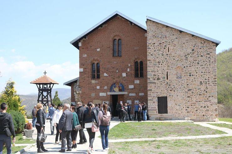 Poseta manastiru Banjska Foto: A. Jovanović