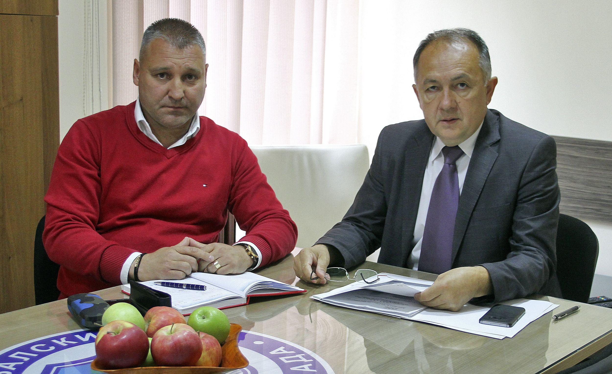 Sasa Zivkovic i Novak Kostresevic