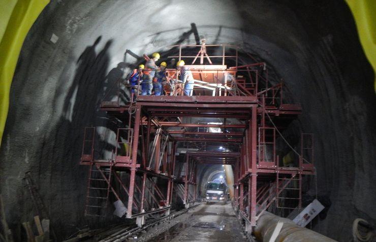 """Izgradnja tunela Foto: """"Infrastruktura železnice Srbije"""""""