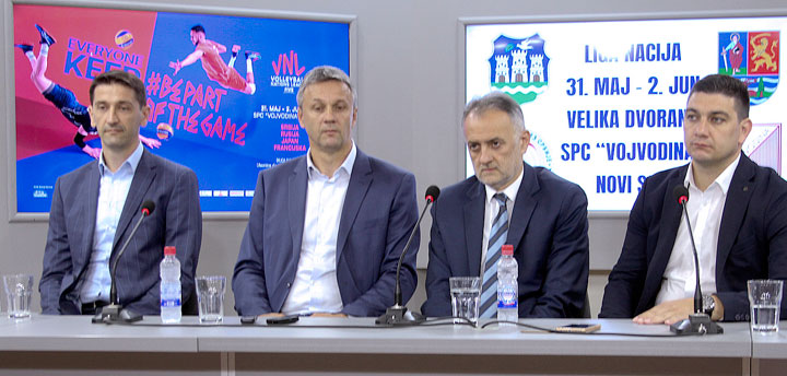 Slobodan Boškan, Vladimir Batez, Zoran Gajić i Ognjen Cvjetićanin/F. Bakić