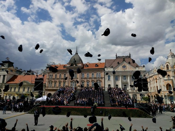 Promocija novih pripadnika MUP-a u Novom Sadu Foto: A. Savanović