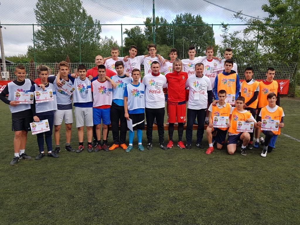 Milos Krasic na dodeli zahvalnica posle turnira u malom fudbalu u Novom Sadu Foto SIM Srbije (1)