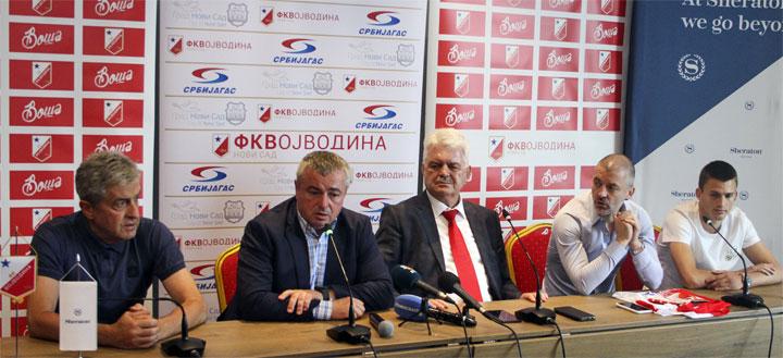R. Hadžić/Sa konferencije za novinare FK Vojvodina