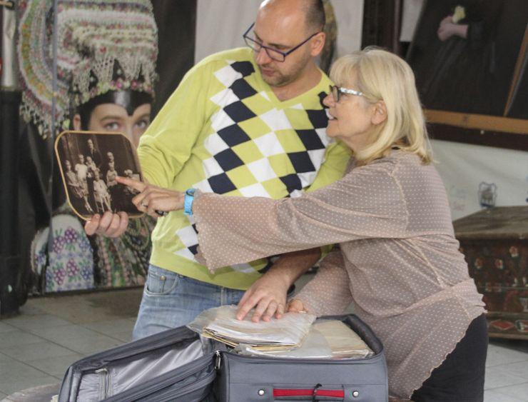 Donela je pun kofer dokumenata i fotografija da se o njenom dedi Ljudovitu Mičateku napiše knjiga Foto: R. Hadžić