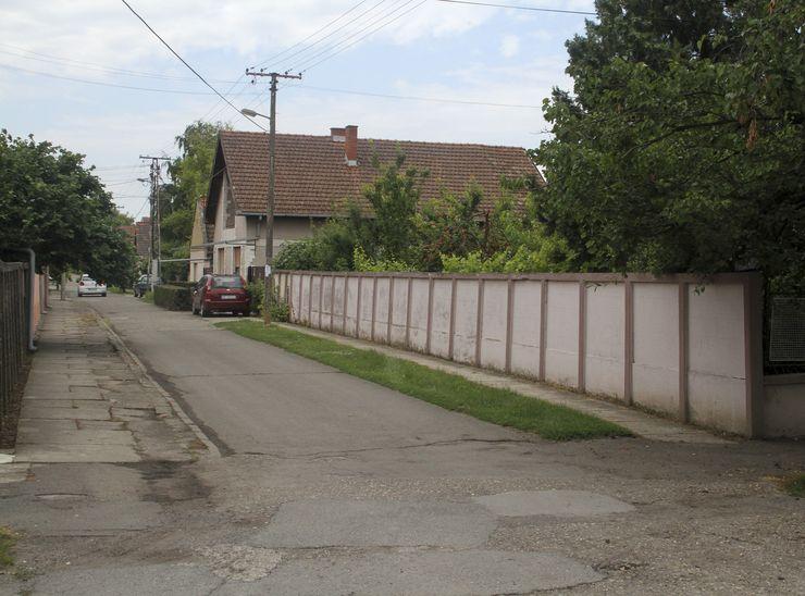 Ulica Mičatekova u Kisaču jedan od čuvara uspomena Foto: R. Hadžić