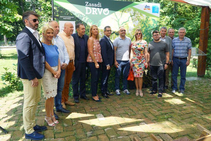 """Početak najveće akcije sadnje stabala u Srbiji, """"Zasadi drvo"""" Foto: Tanjug/D. Kujundžić"""
