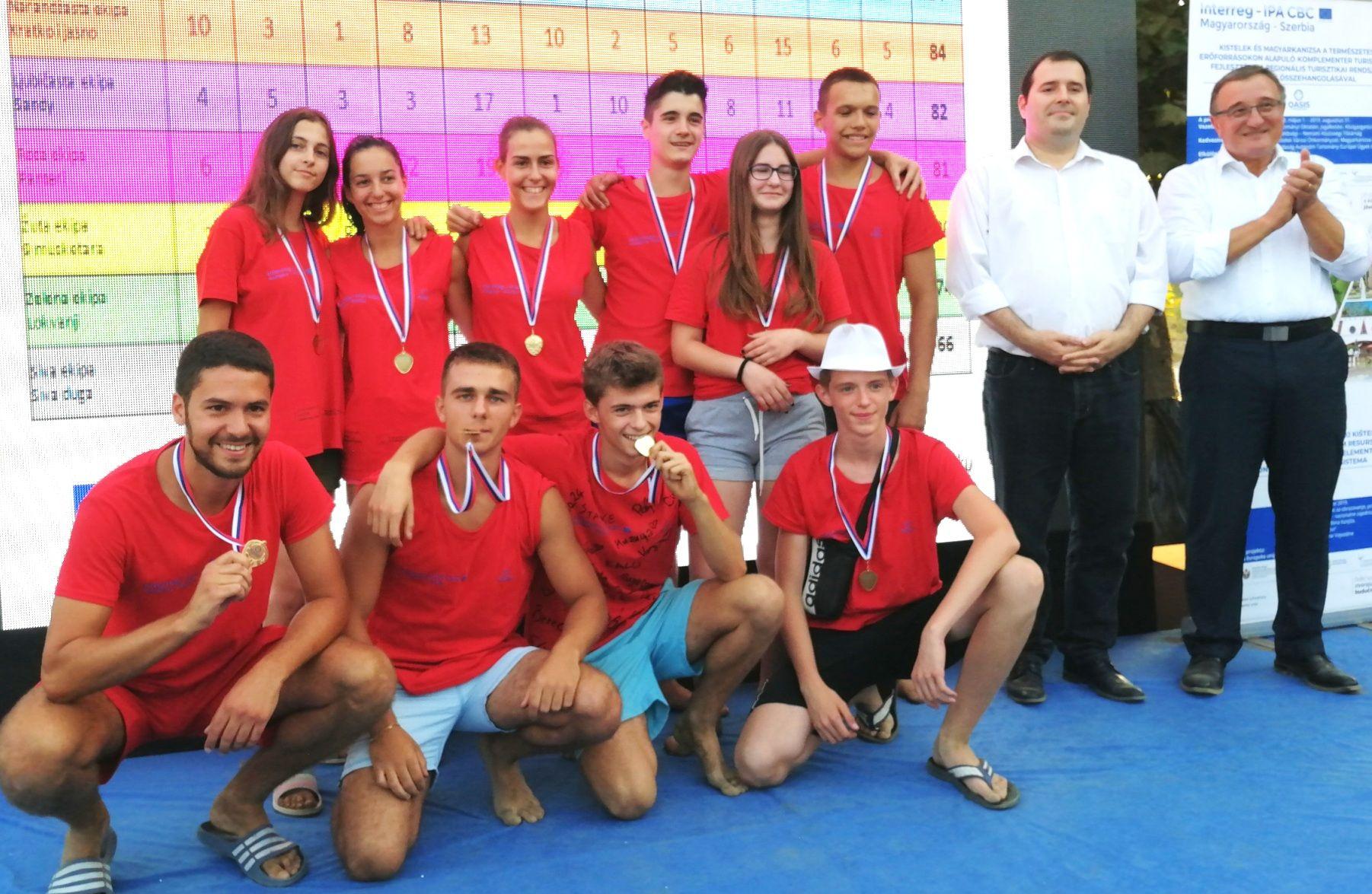 Kamp OASIS pobednici Red star