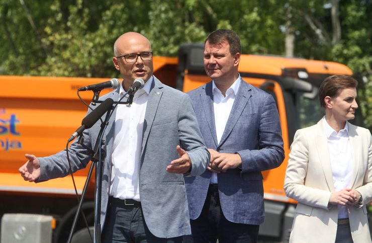 Vučević: Podižemo moderno naselje Foto: R. Hadžić