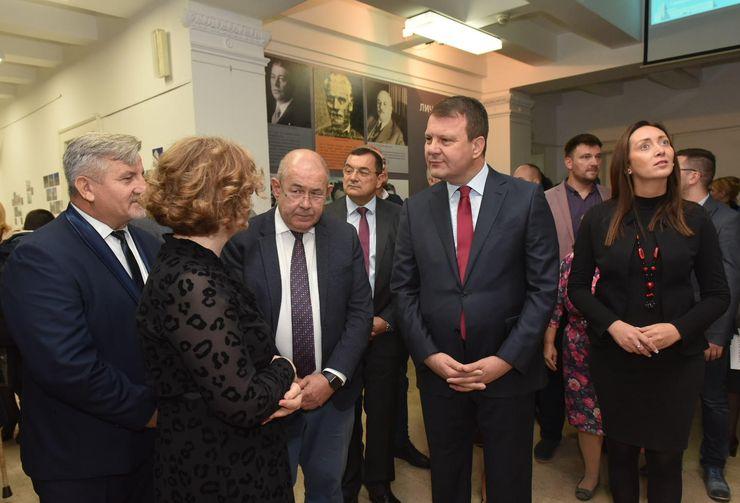 Otvorena izložba o Banskoj palati u Arhivu Vojvodine Foto:Skupština Vojvodine