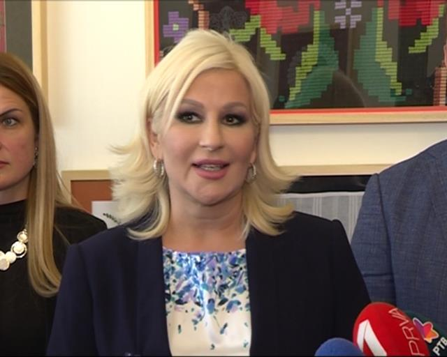 Zorana Mihajlović na otvaranju Vojvođanskog salona Foto: Pokrajinska vlada
