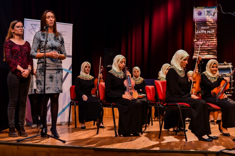 "Koncert orkestra ""Al Nour Wal Amal"" iz Egipta Foto: Pokrajinska vlada"